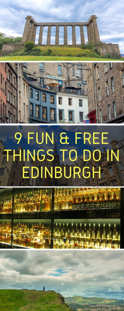 There are so many things to do in Edinburgh, Scotland - from the Grassmarket to the Castle, from the pubs to the Royal Mile - and these 9 things are totally free!