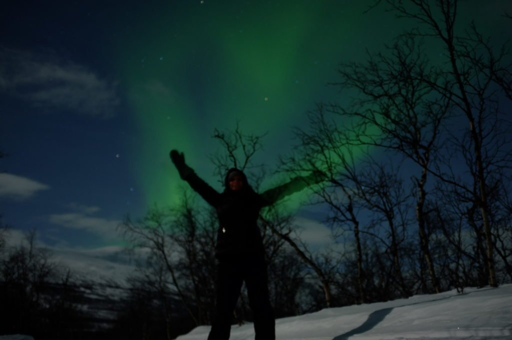 Abisko, Sweden is one of the best places to see the Northern lights on a budget!