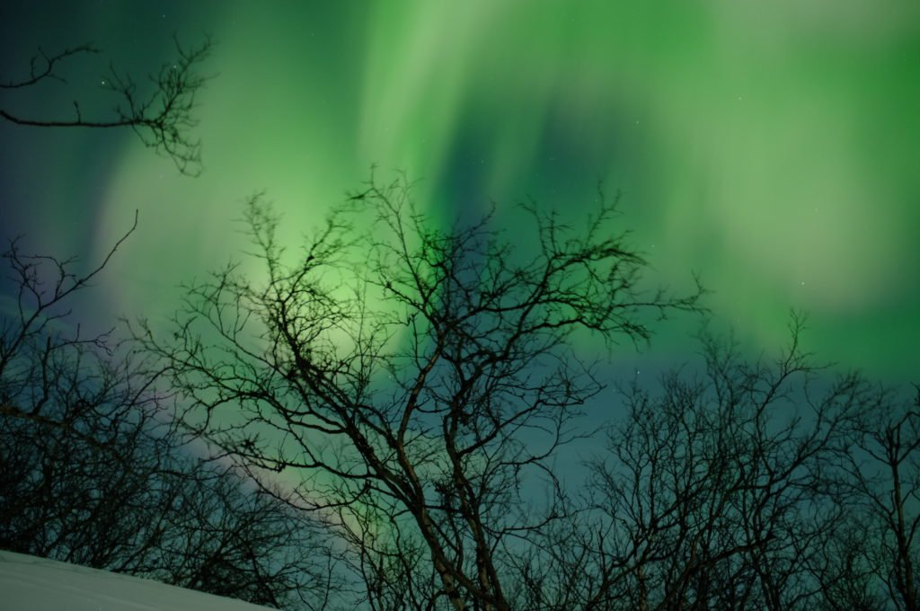 The complete guide to seeing the Northern lights on a budget in Abisko, Sweden