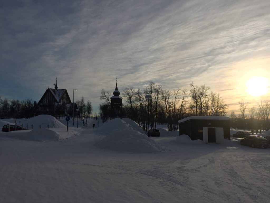 Kiruna in winter