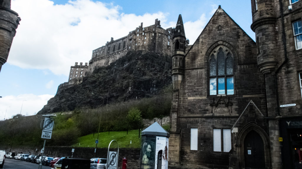 Edinburgh Grassmarket is one of the best free things to do in Edinburgh