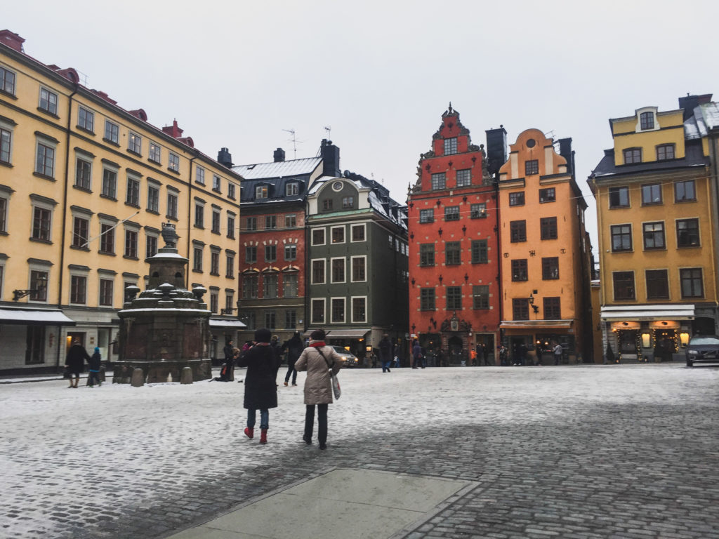 Gamla Stan in winter