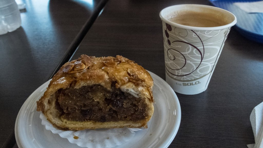 Kasalta pastry cafe con leche