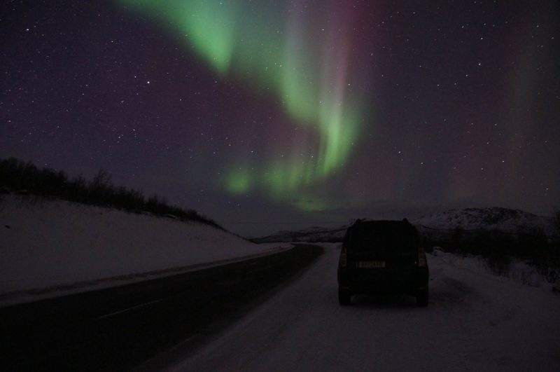 Why not try spotting the Northern lights in Abisko?