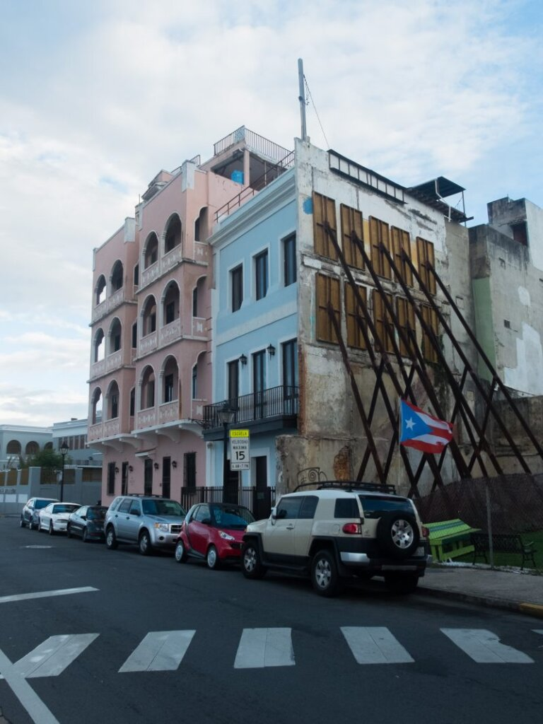 houses in Old San Juan