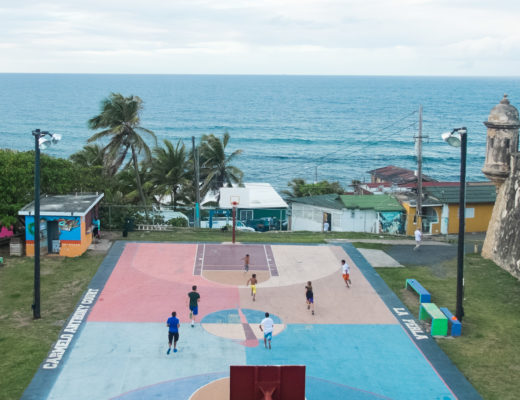 basketball in Old San Juan