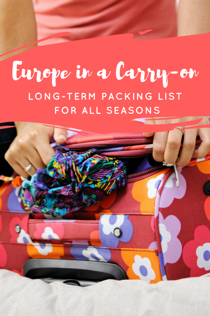 I backpacked through Europe for six months, summer through winter, with only a carry-on size backpack! Here are the essential things to bring.