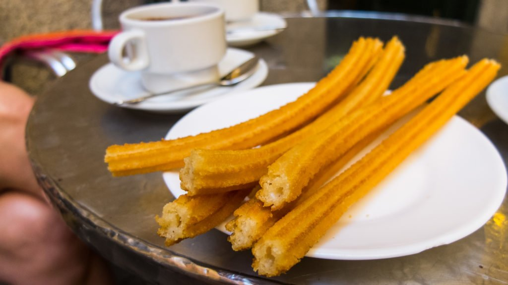 churros in Sol, Madrid