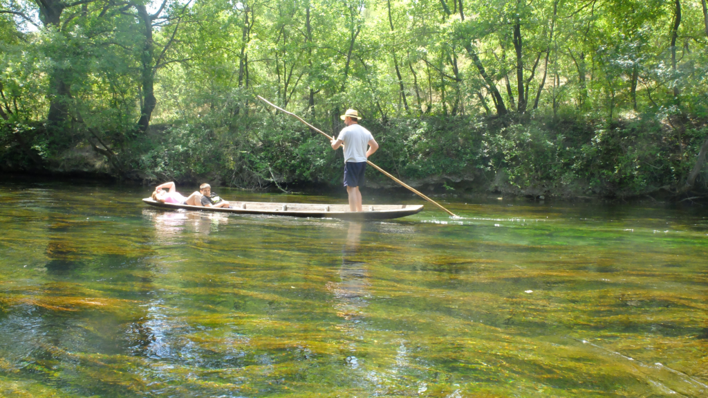 Sorgue river kayaking