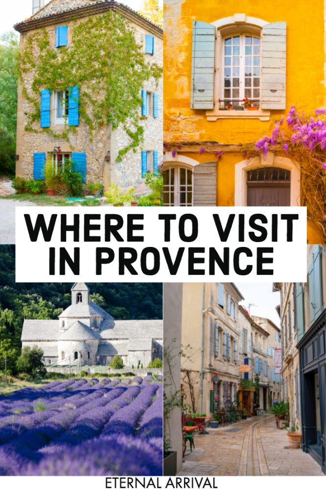 Going to travel Provence, France? This Provence travel guide covers some of the best cities & villages in Provence, from purple lavender fields to delicious wine to gorgeous architecture to cypress trees and beyond. Here are the most beautiful places in Provence (and indeed, in Europe!) for you to discover on your France trip. Use this to plan the perfect Provence itinerary or Provence road trip!