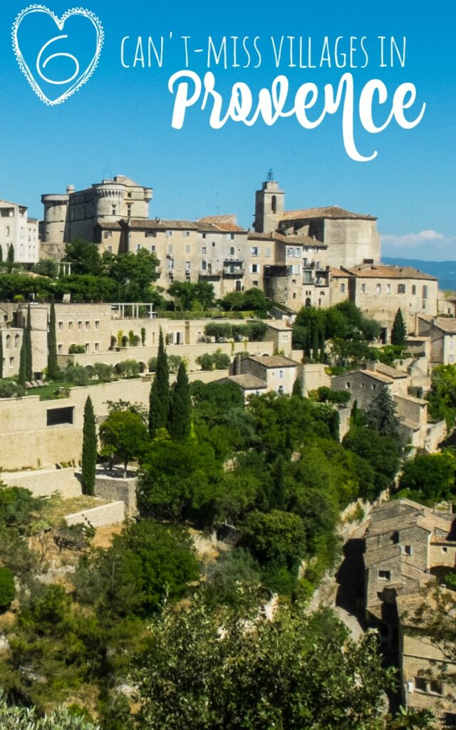 Provence: land of lavender and sunflowers, delicious pastries and cheeses, outstanding local wines, and quaint hill towns. There are so many towns to choose from - here are 6 of my favorites from the Luberon area of Provence.