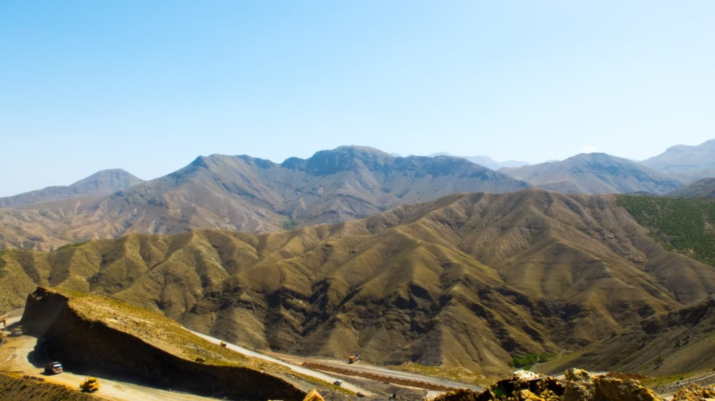Atlas mountains in Morocco - great place for female travelers