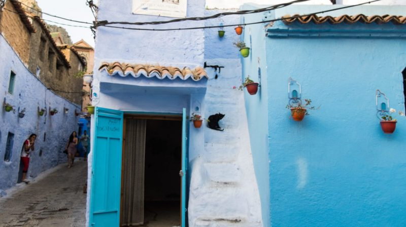 chefchaouen is a great place for solo female travel in morocco