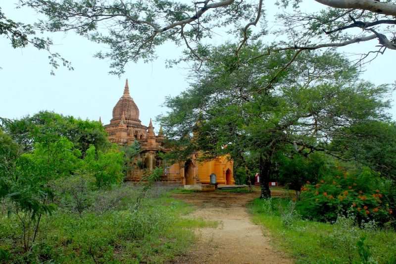 Around each corner, behind nearly every tree, another unassuming temple.