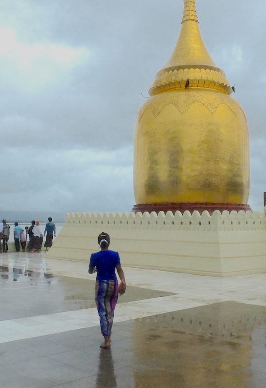 They seem to share the same awe as the tourists: Bagan is a special place.