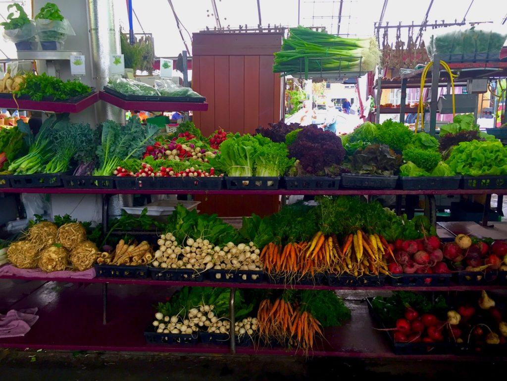 Beautiful produce at the markets!