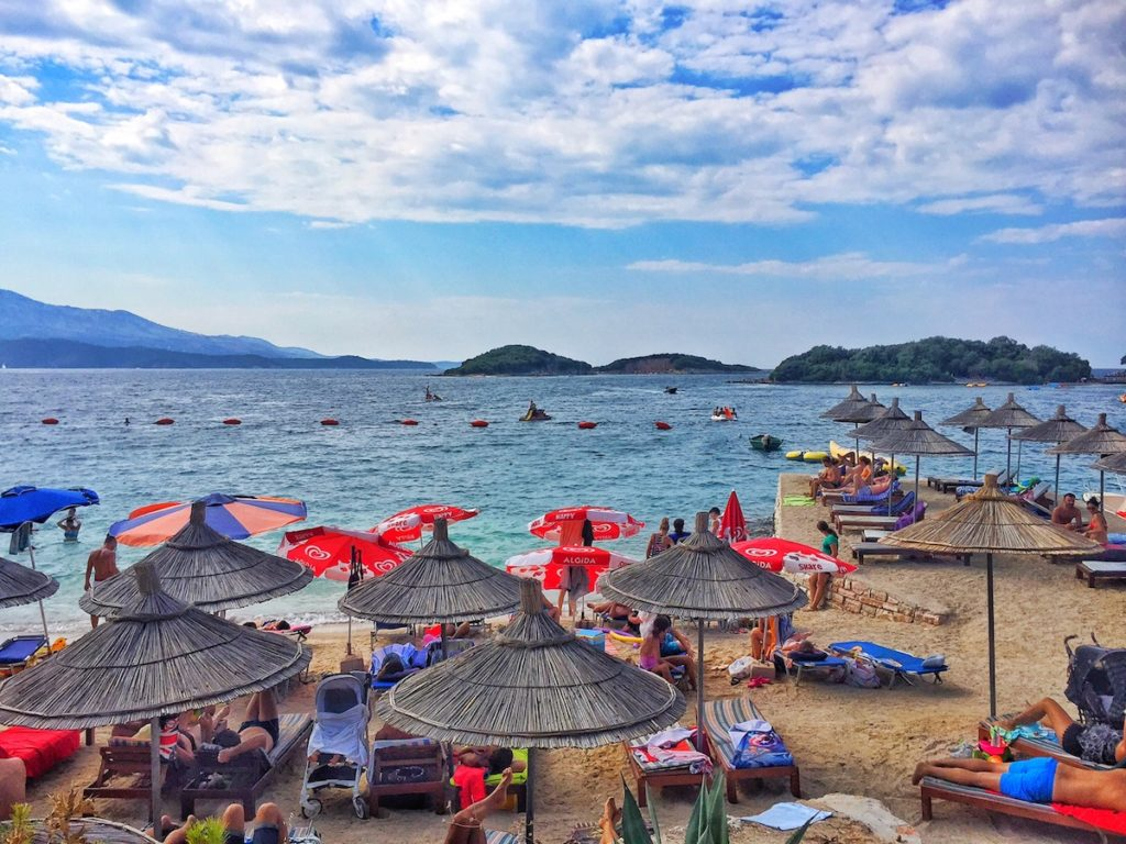 day trips from Saranda Albania Ksamil
