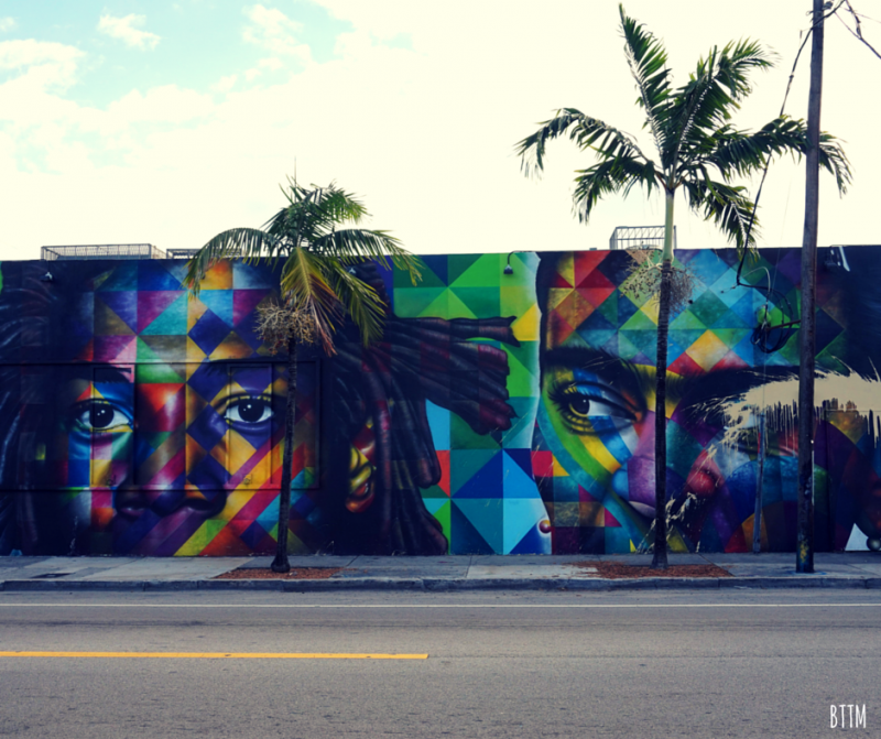 Street art in Miami, Florida