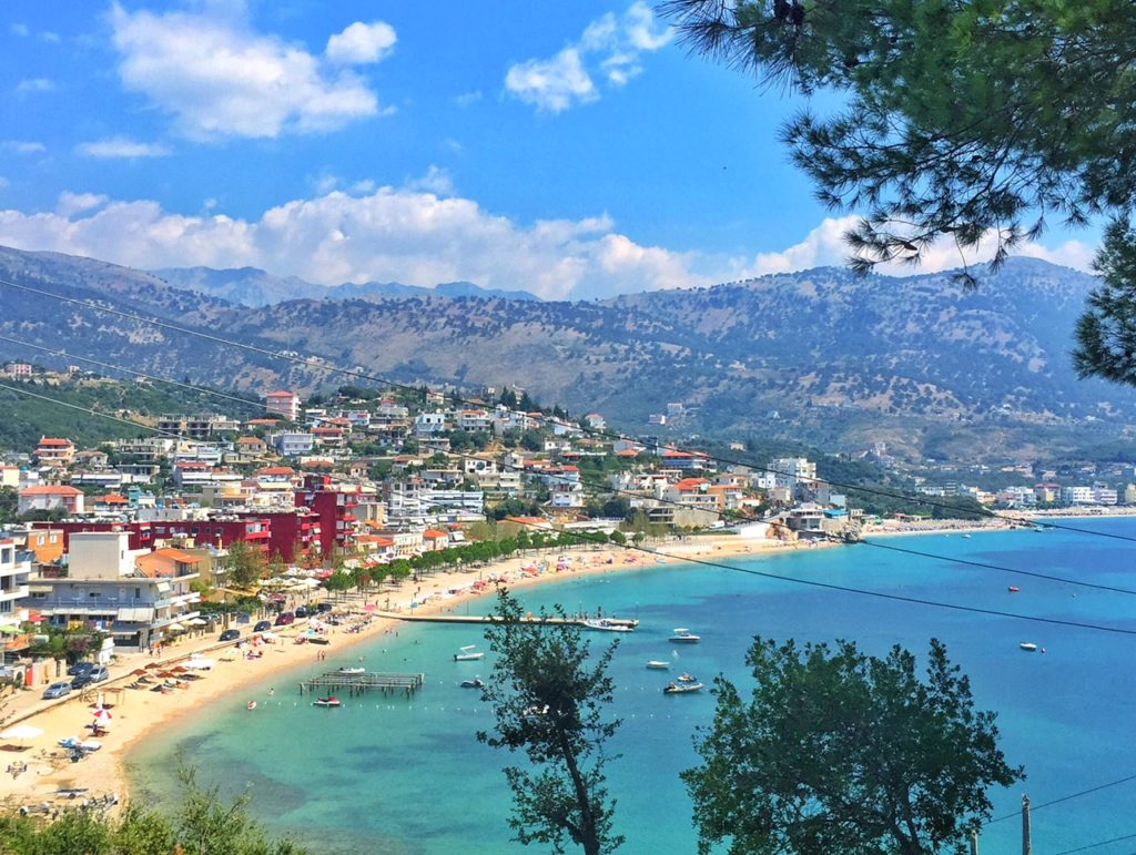 Himara, one of my favorite Albanian beaches