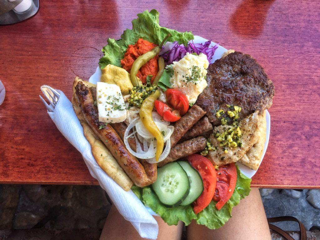 food in Bosnia