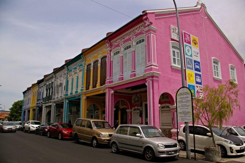 colorful city of Penang