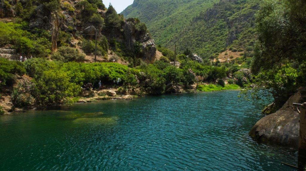 Beautiful Akchour near Chefchaouen, Morocco
