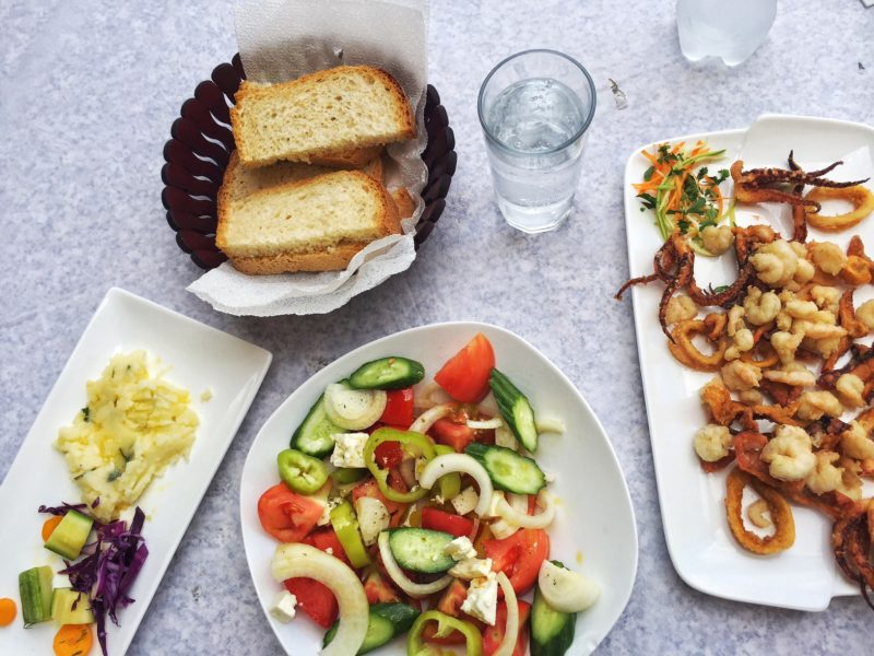 food in Albania, one more reason to travel there!