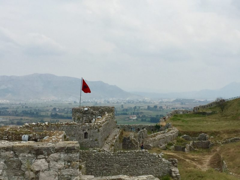see beautiful castles like this when you travel in Albania