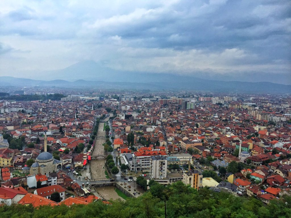 views over prizren - things to do in Kosovo