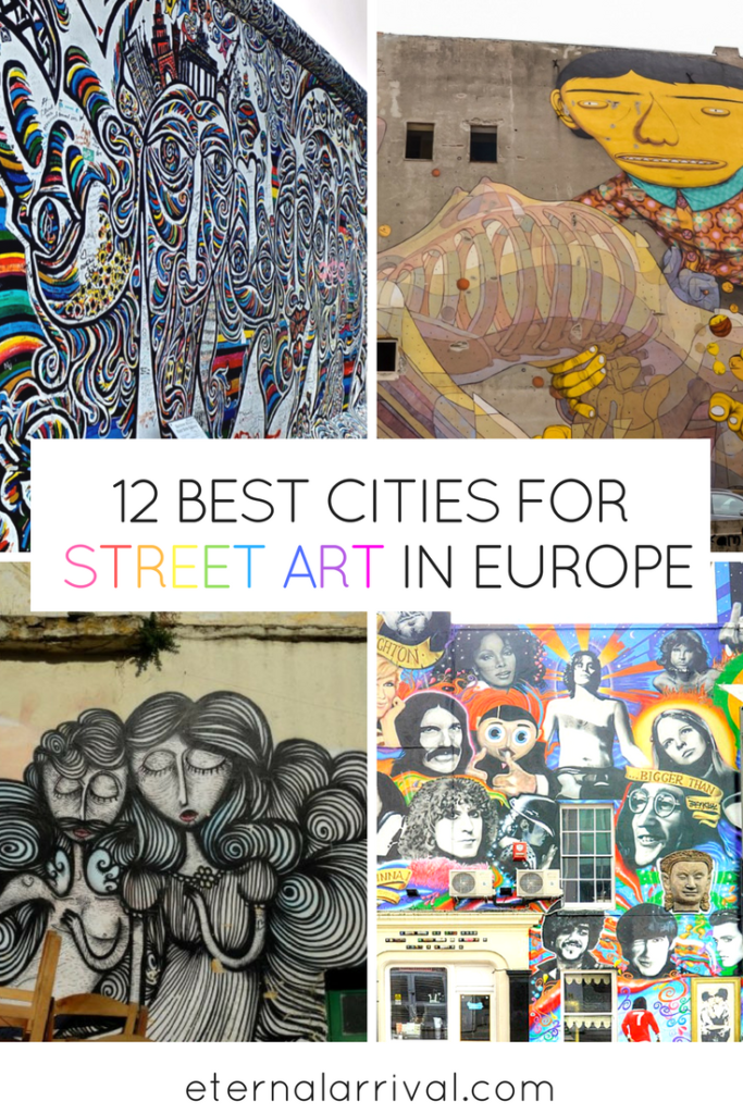Everyone knows Berlin and London are famous for their street art, but have you ever heard of Lodz? Ponta Delgada? Larnaca? 12 travel bloggers share their favorite European cities for street art, both on and off the beaten path. Read on to discover some surprising new places with fantastic street art culture!