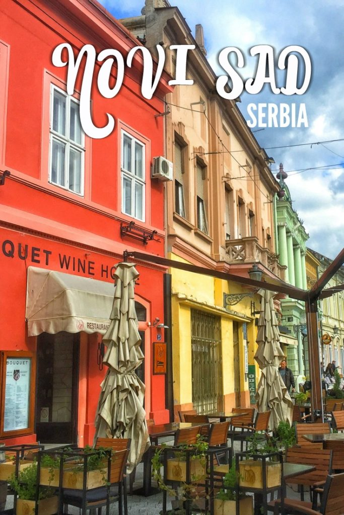 Forget Belgrade! There are so many exciting things to do in Novi Sad, Serbia if you're planning a trip through the Balkans. Check out this colorful city!
