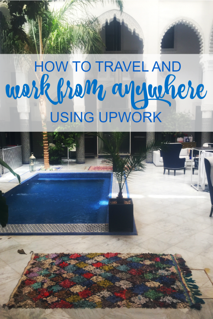 Curious about how I manage a life of full-time travel? I work from anywhere by doing freelance work 10-15 hours a week using Upwork. Ready to learn my secrets?