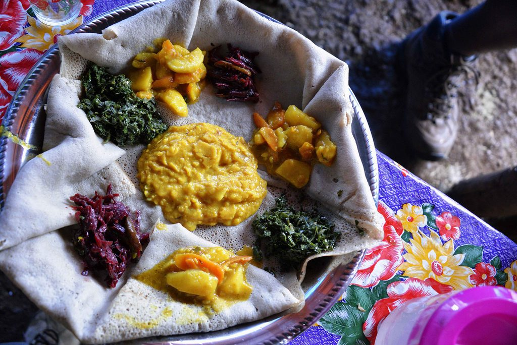 Another one of the best cuisines in the world - Ethiopian
