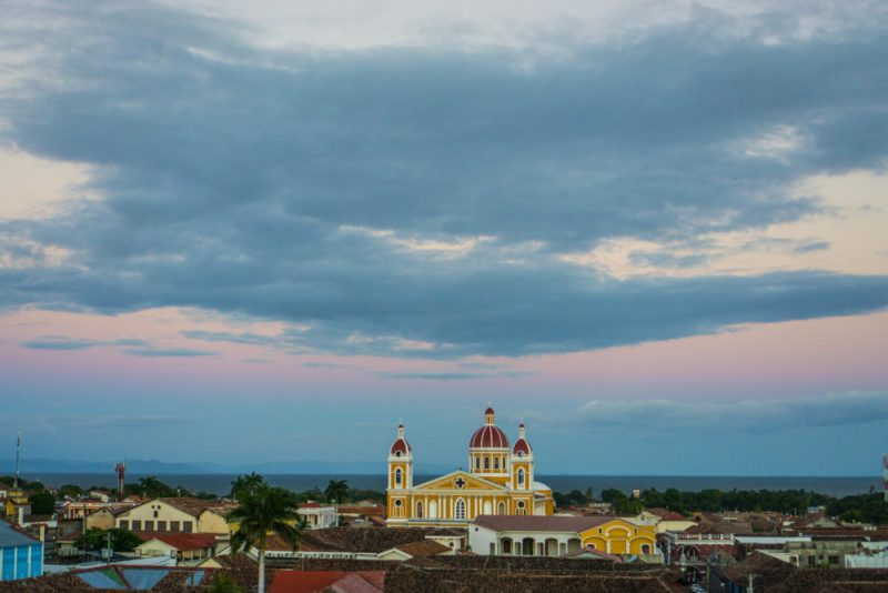 renting a car in Nicaragua? Don't miss Granada and the lovely views of the Cathedral