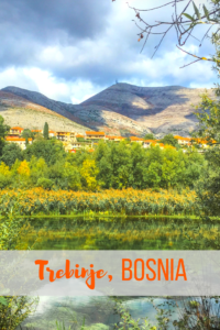 The tiny town of Trebinje in Bosnia is just a 30 minute drive from Dubrovnik, but it's got enough charm to warrant more than just a day trip! A must on any Balkans road trip.