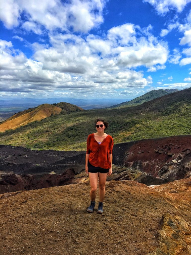 Volcano Boarding, one of the Nicaragua top things to do