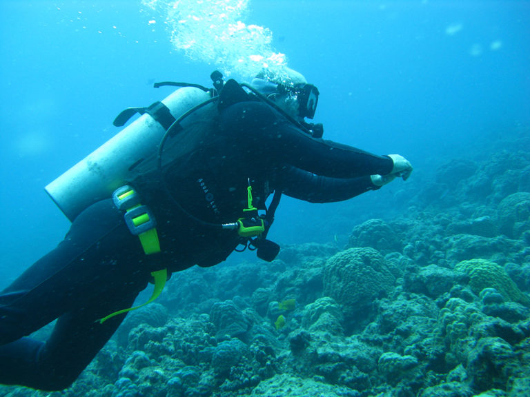 learn to scuba dive in vanuatu