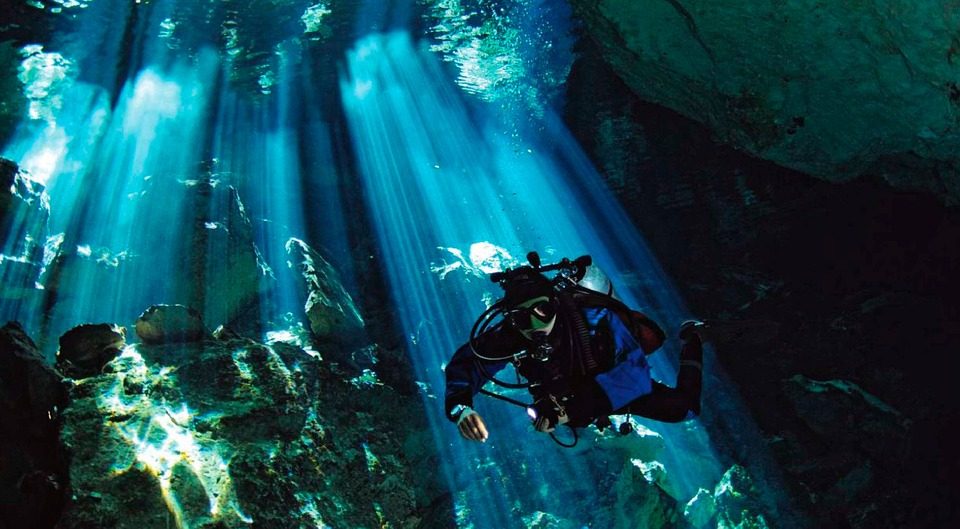 Learn to scuba dive in a cenote in Mexico!