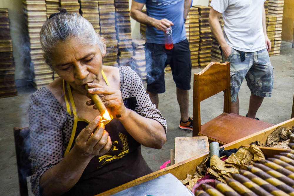 Learn to make cigars from a badass lady - one of the top things to do in Nicaragua