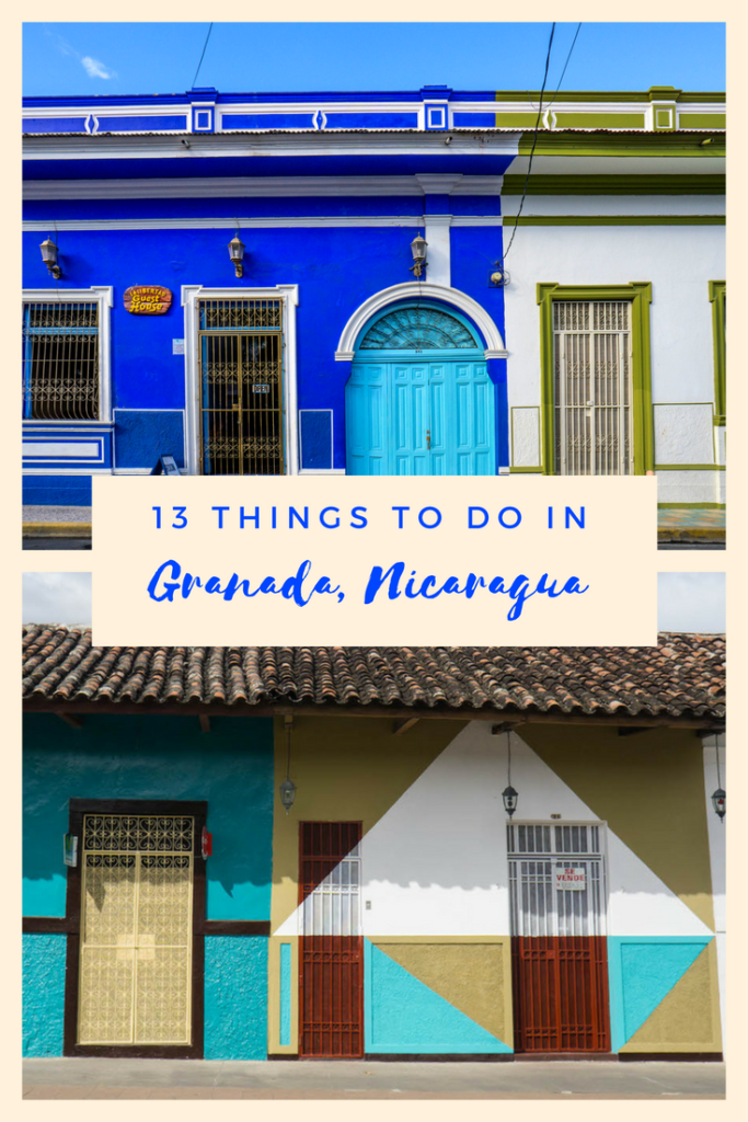 Granada, Nicaragua is packed with things to do - travel to the active volcano of Masaya, kayak the isletas, or take in the gorgeous colonial architecture.