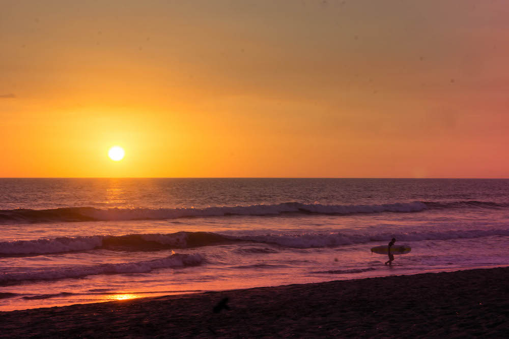 Learning to surf in Las Penitas is one of the best things to do in Nicaragua