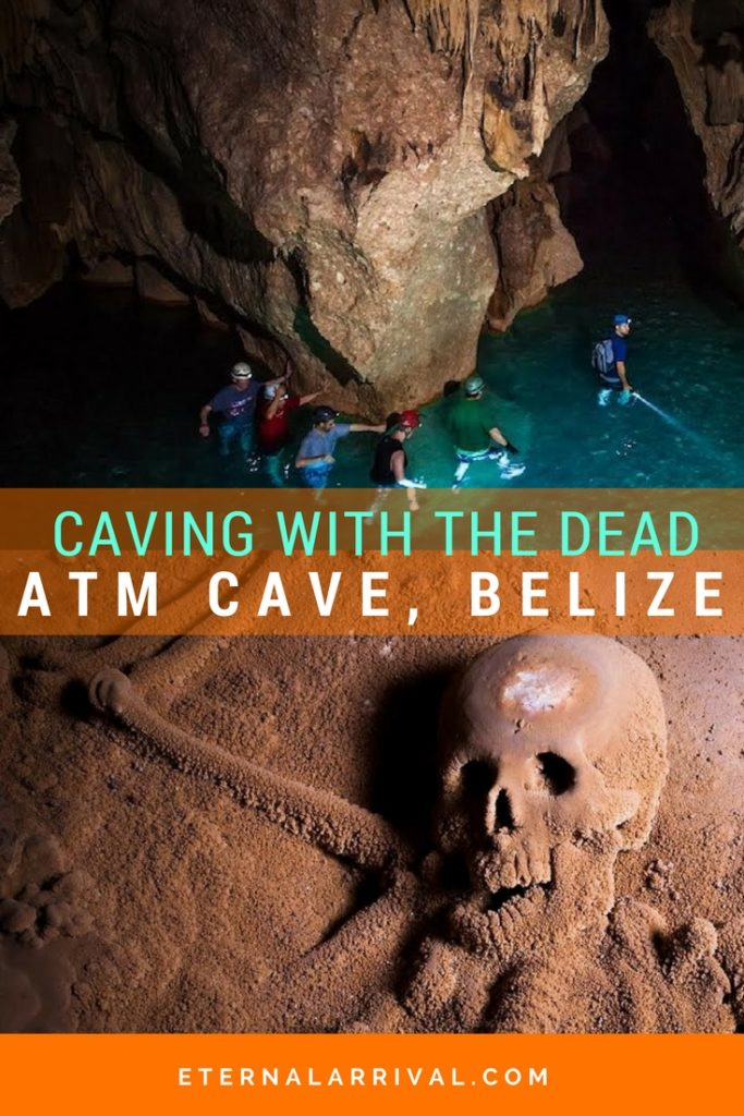 Go caving in the #1 Sacred Cave in the world as voted by National Geographic! Actun Tunichil Muknal (or ATM Cave) in San Ignacio, Belize glitters with crystals and has remains of Maya human sacrifice victims. Visit this amazing cave before it's too late!