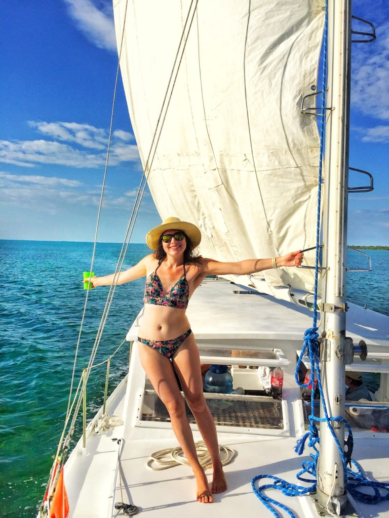 Sailing & snorkeling in Belize