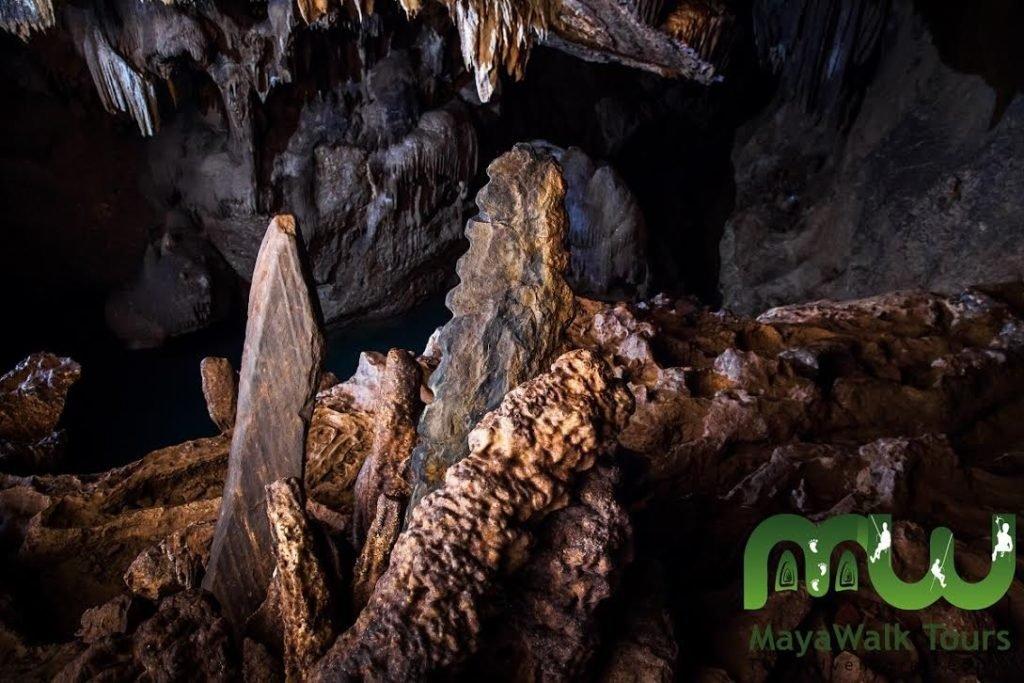 Inside Actun Tunichil Muknal (ATM Cave)