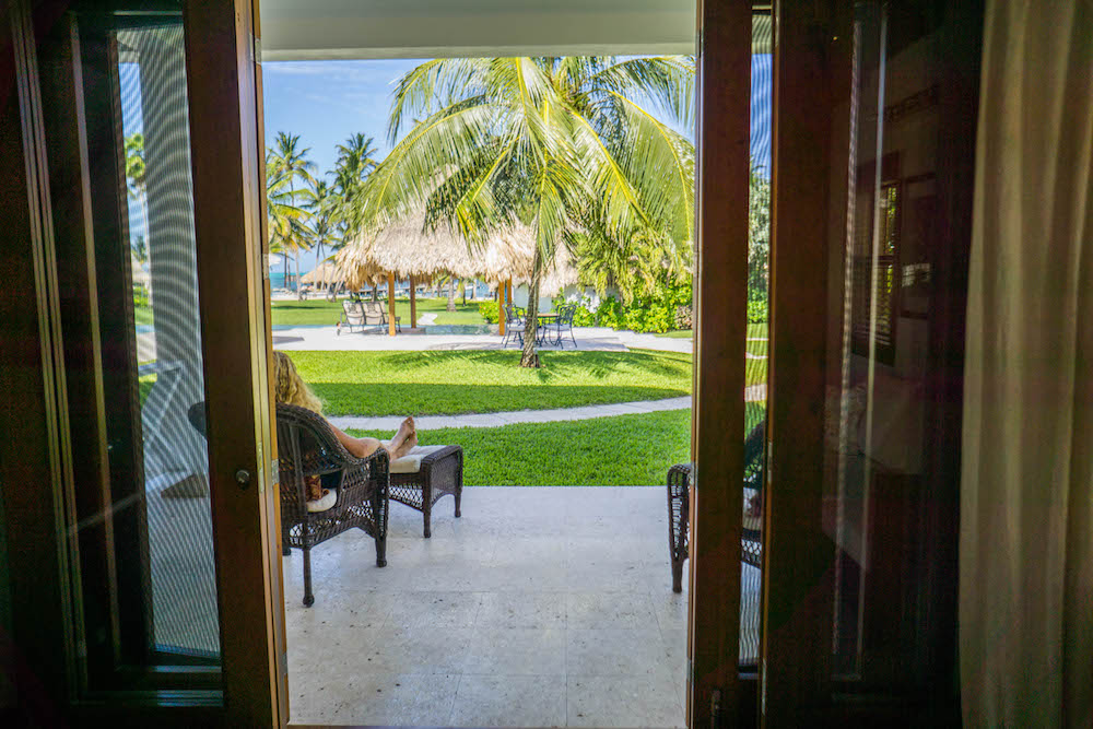 View at Victoria House San Pedro Belize