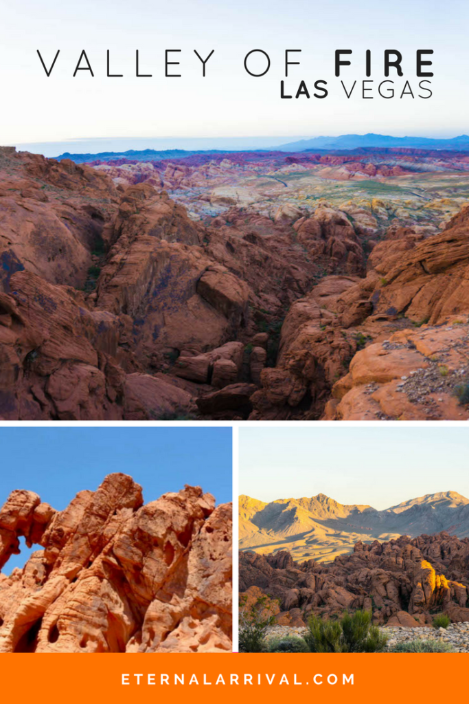 The best day trip from Las Vegas is the little-known Valley of Fire state park. See the amazing Nevada landscape, go hiking, have a photoshoot, see the famous Rainbow Vista, Elephant Rock, Pink Canyon, and Fire Wave...