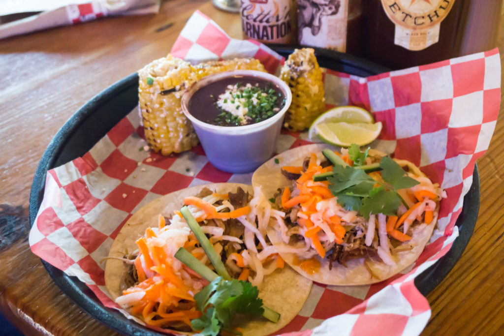 Be sure to make time for pulled pork tacos on your 3 days in Nashville