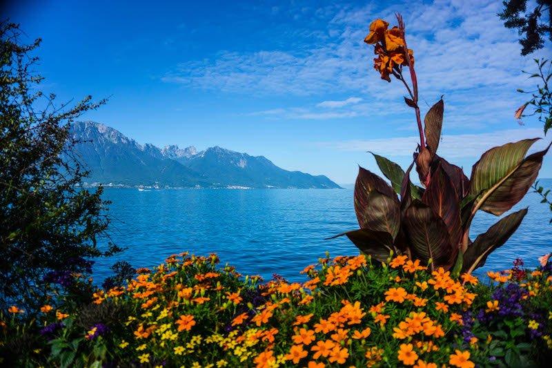 scenic places in Switzerland - Montreux