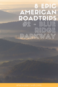 8 bucket list US road trip itineraries you should steal, including stops along the Blue Ridge Parkway in North Carolina and Virginia. Perfect in the fall - or anytime really - try camping along the parkway, check out the funky city of Asheville, and more on the blog!