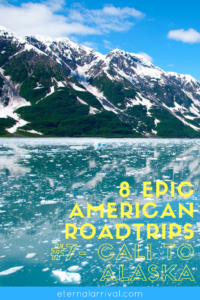 Fancy a road trip up to Alaska? Tons of great ideas for your California to Alaska road trip, including Portland, Seattle, Vancouver, bison on the highway, hot springs, the Yukon, and cute towns in Alaska like Seward! More details on the blog.
